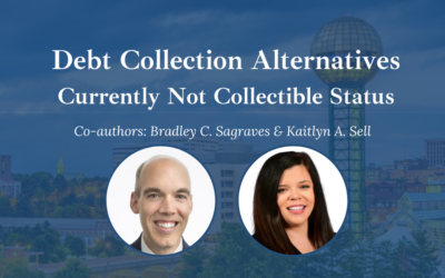Currently Not Collectible Status –  I.R.S. Debt Collection Alternatives