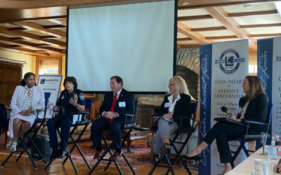 """Attorney Cheryl Rice Moderates the """"Issues Surrounding Law Enforcement"""" Panel Discussion"""